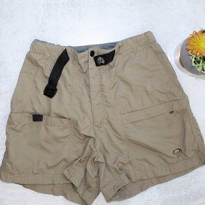 Mountain Hardware Taupe Hiking Shorts Size 8